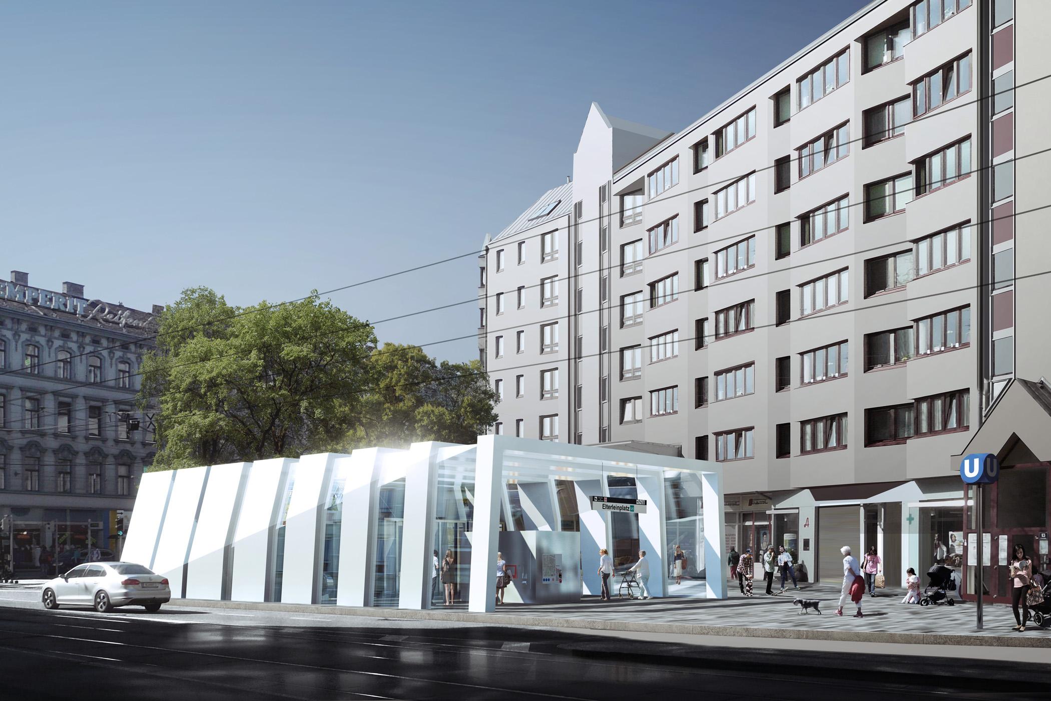 New U5 Metro Line In Vienna Franzsue